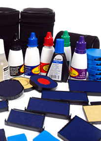 Штемпельні фарби та аксесуари